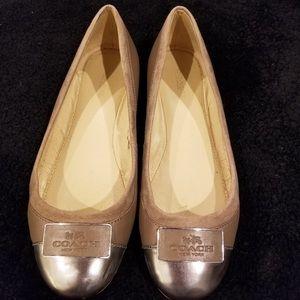 Coach Ballet Slipper Flats